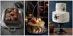 Cast a spell this Halloween with these hauntingly festive cakes.