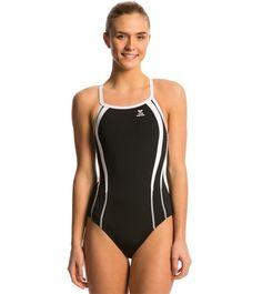 d748e3dba72 TYR Durafast Splice Diamondfit One Piece Swimsuit at SwimOutlet.com - Free  Shipping