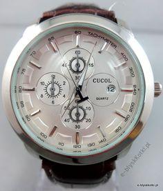 ZEGAREK Kwarcowy w kolorze srebrnym cena 59.90 PLN Omega Watch, Quartz, Watches, Wrist Watches, Wristwatches, Tag Watches, Watch