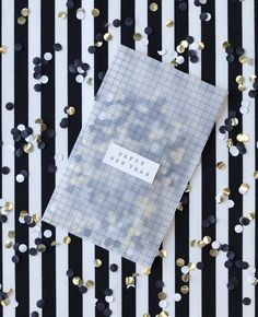 Black and white New Year! Stylist Charlotte Love Photographer Lenka Rayn H. Tracing paper envelopes