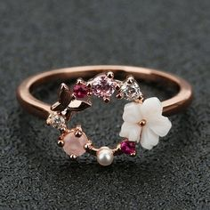Cute Rings, Pretty Rings, Beautiful Rings, Promise Rings For Her, Hand Jewelry, Jewelry Rings, Jewelry Accessories, Jewlery, Fashion Accessories