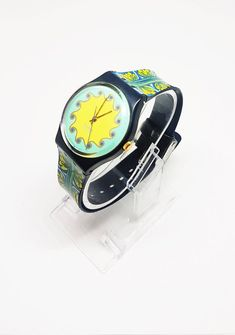 Vintage Swatch Watch for women, collectible watch for her, Ladies Watches, Retro Swiss Wristwatch, Vintage Watch, Womens Watch, Partner gift This watch is part of a 200 Swatch Collection! Check my Swatch section for more unique and rare models: Vintage Swatch Watch, Ladies Watches, Antique Items, Vintage Watches, Happy Shopping, I Am Awesome, Models, Retro, Unique