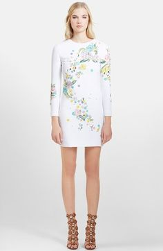 Emilio Pucci Embellished & Embroidered Dress available at #Nordstrom