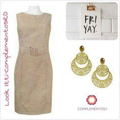 """Qué te parece nuestro Itti-complementos look con este vestido de @ittierre_business ?  Hermosos accesorios en esta temporada!  Nuestros new arrivals te encantaran cada vez más!  Visita nuestro """"Silver Showroom"""" en @ittierre_topshop @ittierre_business ubicado en Plaza Castilla (Av. Abraham Lincoln casi esq. Lope de Vega)  #newarrivals #available #earrings #gold #goldfilled #lookitticomplementosrd #fridaylook #glam #accesories #byou #becomplete"""