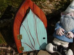 Fairy Door for your Fairies Gnomes Elves and by TheWhisperingWorld, $12.99