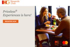 Stay 2 Times at IHG Hotels, Get Up To $100 Rewards Card!