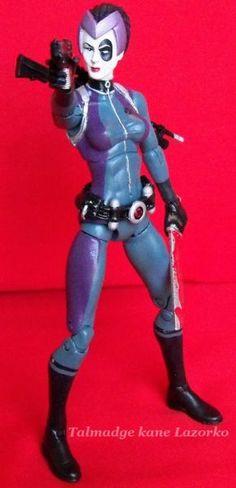 SHIELD Agent Maria Hill (Marvel Universe) Custom Action ...