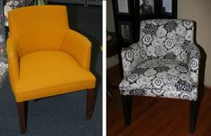 upholsteri, chair redo, wing chairs, upholstered chairs, cushions, reupholst chair, old chairs, chair upholstery, diy projects