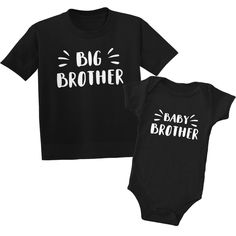 Starburst Big Brother Baby Brother Shirts Big Brother Little Brother Matching Black Shirt and Baby Bodysuit Grows Rompers Big Brother Little Brother, 2 Brothers, Boy Clothing, Clothes, Sibling Shirts, Cricut Air, Baby Boy Gifts, Baby Bodysuit, Baby Boy Outfits