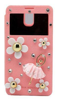 Lumiel   Daisy Ballerina View Flip Case for Optimus G Pro