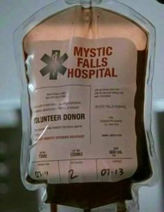 Blood ¤ Mystic Falls Hospital - The Vampire Diaries