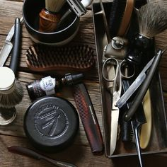 d7cea43c The right tools transform the morning. Every gentleman needs the grooming  classics: a wood