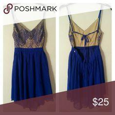 Blue dress Little blue dress, worn once Dresses