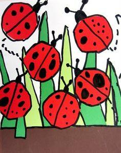 Artsonia Art Gallery - Ladybug Collage