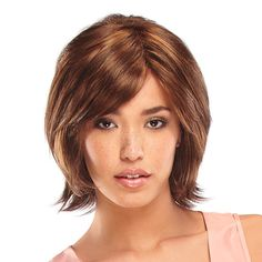 Short / shoulder length hairstyle with highlights // Wigs and Hair Replacement