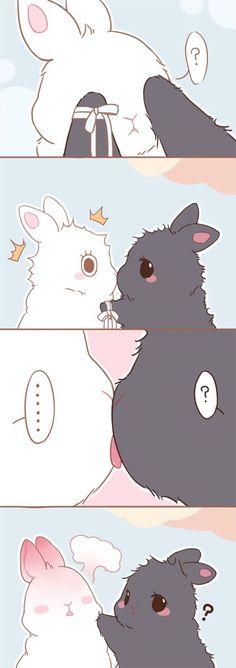 Read mo dao zu shi bunny from the story Imagenes Mo dao zu shi by with reads. Bunny Drawing, Bunny Art, Cute Bunny, Cute Drawings, Animal Drawings, Illustration Kawaii, Cute Chibi, Chibi Bunny, Kawaii Bunny