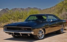 1969 Dodge Charger | Dodge Charger 1969 Great Pic, awesome car! Glossy black with matte black stripes mmmhmm