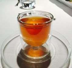 The hot and cold tea @ The Fat Duck, Bray, England Michelin Star, Foodie Travel, Restaurants, Fat, England, Cold, Restaurant, English, British