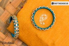 Flowers spring paper beautiful Ideas for 2019 Silk Thread Bangles Design, Silk Thread Necklace, Silk Bangles, Thread Jewellery, Bangle Set, Bangle Bracelets, Diy Jewelry, Handmade Jewelry, Latest Bridal Mehndi Designs