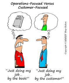 Six Differences Between Customer-Focused Companies and Operations-Focused Companies Learn how to make money online  http://mapforsuccess.weebly.com/homelondie.html