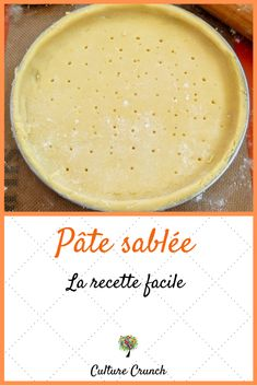 Quiches, Pie Crust Designs, Crunch Recipe, Delicious Desserts, Yummy Food, Flaky Pastry, Crepe Recipes, French Desserts, Bread And Pastries