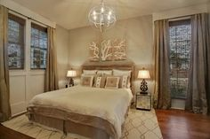 M&M Show House 2011 - transitional - bedroom - new orleans - Maria Barcelona Interiors, LLC