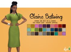 Claire Batwing Dress - Deetron Sims