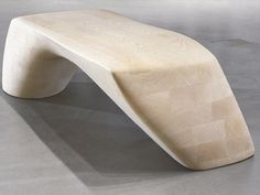 Banco de madera PP995 THE ORDRUPGAARD BENCH by PP Møbler | diseño Zaha Hadid