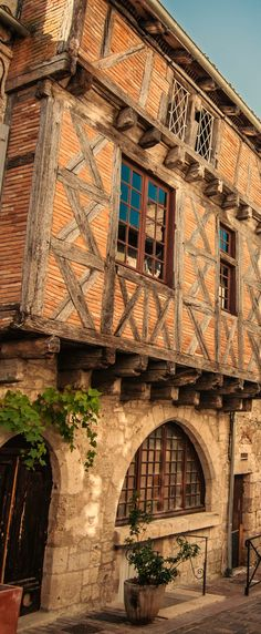 Lauzerte, Bastide medieval, Quercy Blanc, Tarn et Garonne, France