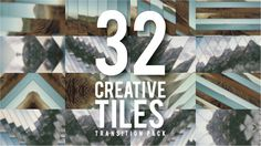 Creative Tiles Transition Pack consists of 32 build transition that can be use in your existing project or new project. The project is well organized and as easy as drag and drop to change images a...
