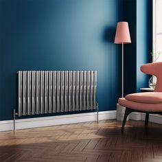 The Brenton Oval Tube Horizontal Radiator with an elegant chrome finish could well be the final touch you need to achieve that feeling of style and comfort that every homeowner strives to achieve. #chromeradiators