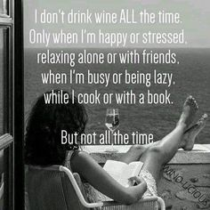 But not all the time. …