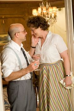 Still of Meryl Streep and Stanley Tucci in Julie & Julia - love this movie