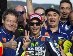 MotoGP Valencia 2014, Valentino Rossi torna in pole