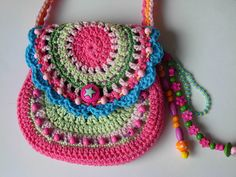 This wouldn't be too hard to make. And you could use mostly scrap yarn, too!
