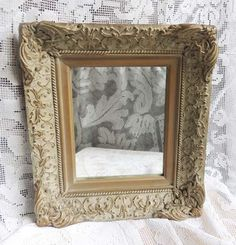 Ornate Wood Scrolled Vintage Picture Frame by chanteclairInteriors, $38.00