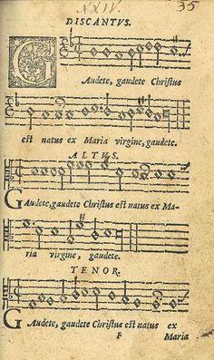Letra del villancico en latín Gaudete - #Latin, #Villancico  http://villancicos.eu/letra-del-villancico-en-latin-gaudete/