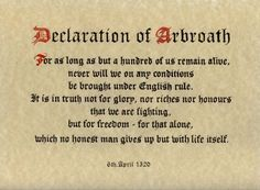 6th April - On This Day - Our Alba