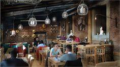 Pub In Sibiu Project By Metropolis Architecture Images, Interior, Public Spaces, Business Ideas, Design, Design Interiors, Interiors