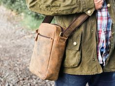 View our Men Mens Crossbody Leather Bag from the Men collection Mens Leather Satchel, Leather Men, Leather Backpack, Leather Wallet, Vintage Leather, Vintage Men, Men's Collection, Laptop Bag, Fathers Day Gifts