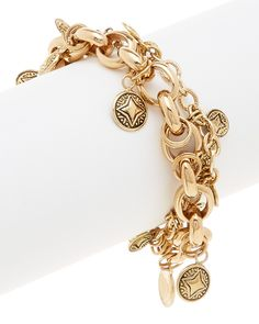Barse Bronze Charm Toggle Bracelet is on Rue. Shop it now.