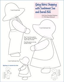 Sunbonnet Sue Quilt Designs | SUNBONNET SUE QUILTING PATTERNS « Free Patterns