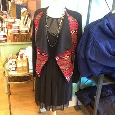 New fall looks in at The Barn Owl. @tammyspicejewelry #jackdress #hazelblazer #tammyspicejewelry