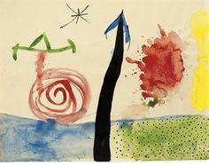 Joan Miró, Sans titre - 1939 on ArtStack #joan-miro #art