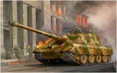 E-100 Jagdpanzer. Vicente Wai.