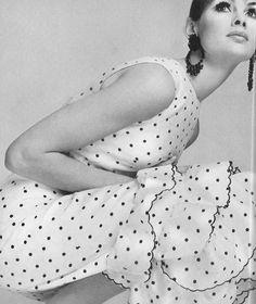 Jean Shrimpton by Guy Bourdin, 1966.