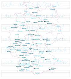 Heißen da wirklich alle Städte wie #Verben? Werden <niederzimmern> oder <wettringen> im heutigen Deutsch wirklich gebraucht? Weiß jemand, was sie bedeuten? #Deutsch #German