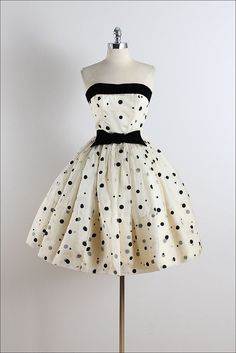 Vestido vintage años 50 Vintage Vestido de por millstreetvintage