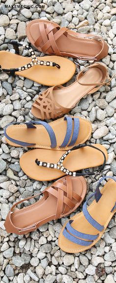8b27a73c9ea028 Summer essentials most definitely include the Open Toe Sandals! These  stunners are perfect when pair