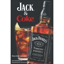 Jack Daniels And Coke Poster 24 By 36